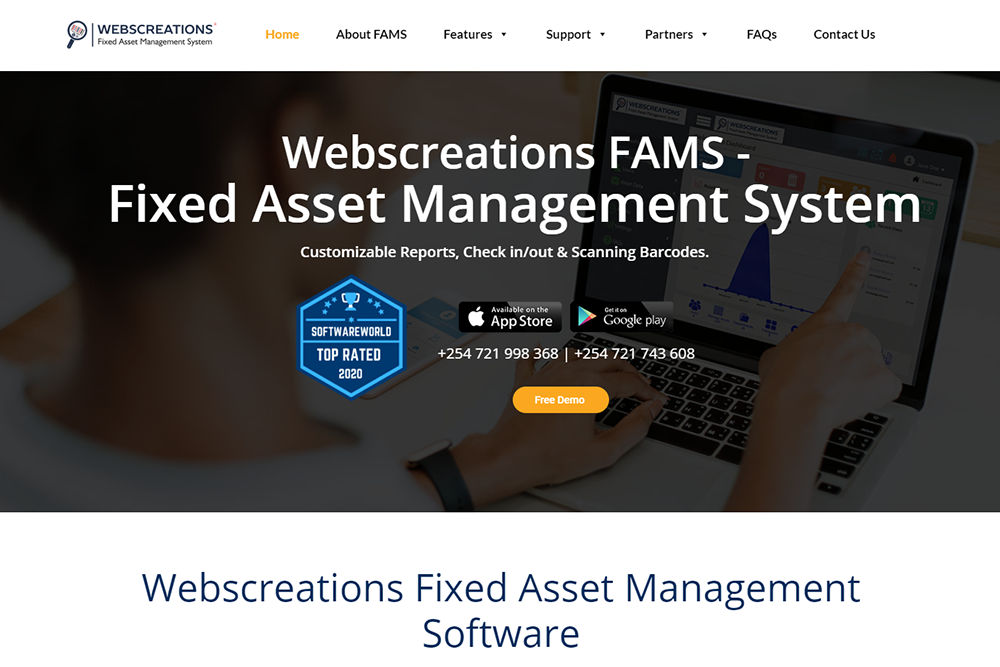Webscreations FAMS